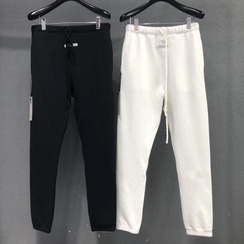 2021 Pantaloni da uomo Autumn Casual Pantaloni Hip Hop Uomo Black Size S-XL