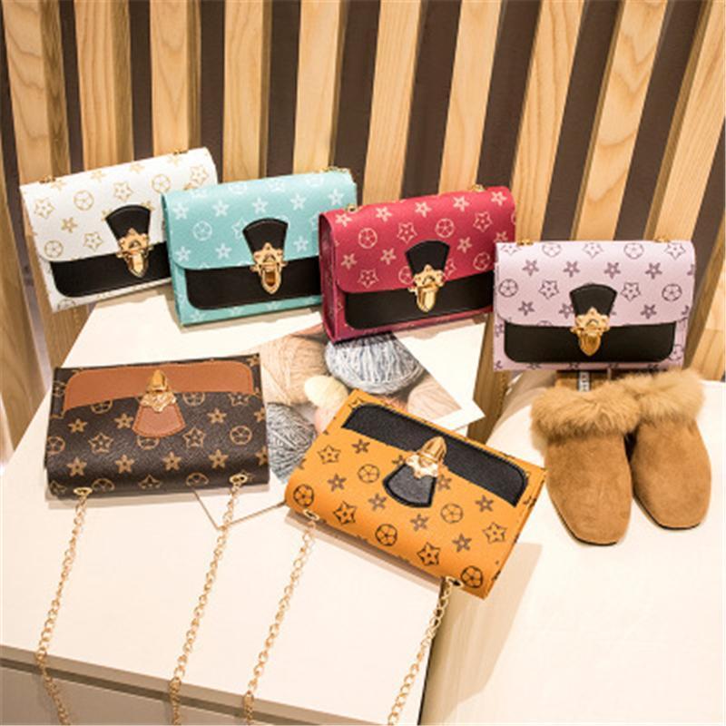 Handbags Classic Fashionable Designer Printing Women's Casual Messenger Shoulder Bag Lady Bags gift