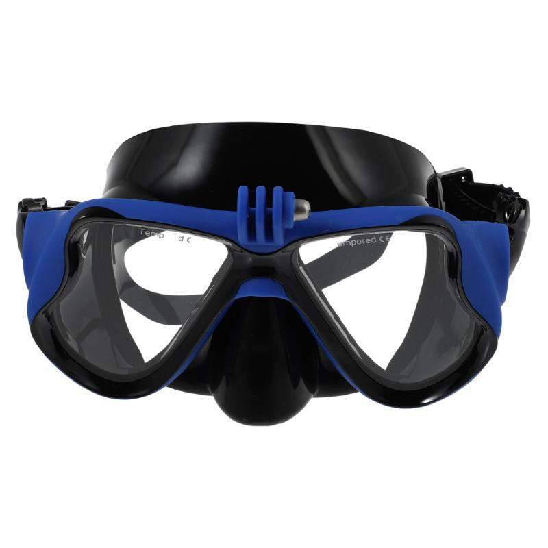 Diving Masks 1Pc Sport Camera Snorkeling Mask Silicone Glasses Gear