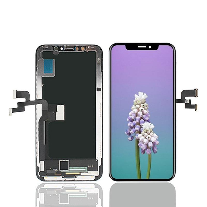ALED Сотовый телефон ЖК-панели экрана для iPhone XS MAX 6.5 11 x XR 6.1 Дисплей Сенсорный дигитайзер Смена Замена Замена Запчасти без пакета
