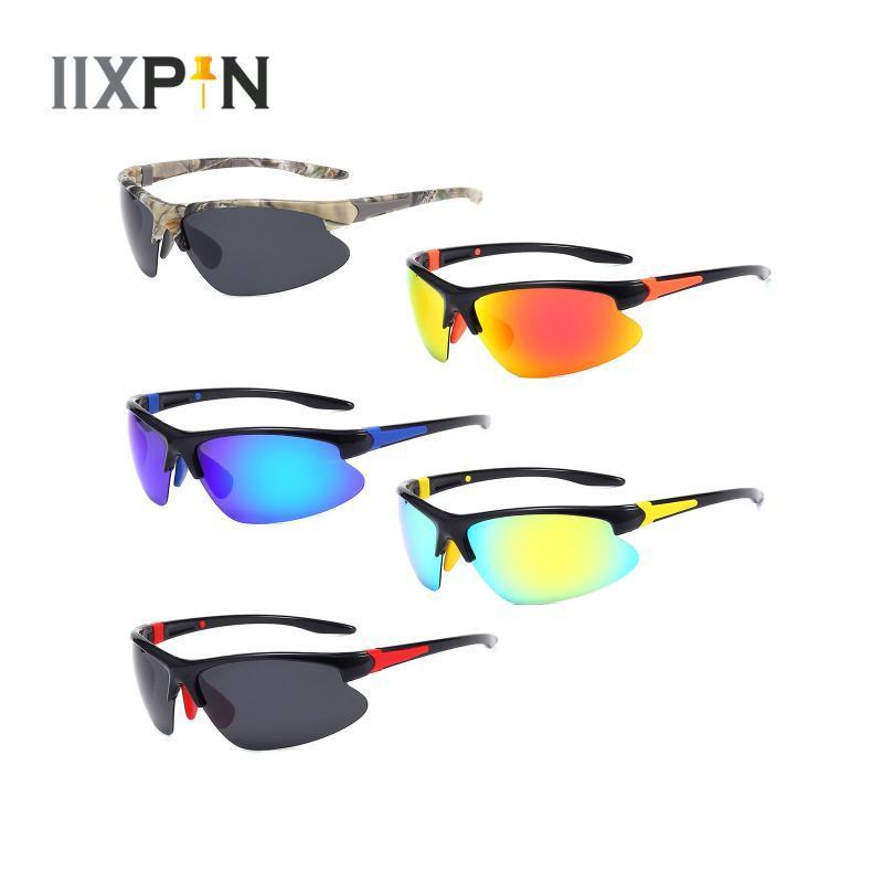 Polarisierte Fahrt Sonnenbrille Nachtsicht Gläser Mens Spiegel Sun Aluminium Magnesiumrahmen Sportfahrer Brille