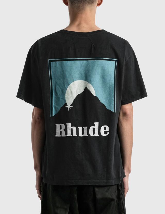 Adam Rhude Sundry T-shirt Tasarımcılar Luxurys 2021ss Günbatımı Kısa Kollu Kadın Avrupa ve Amerikan Yüksek Sokak Gamet Gömlek Streetwear