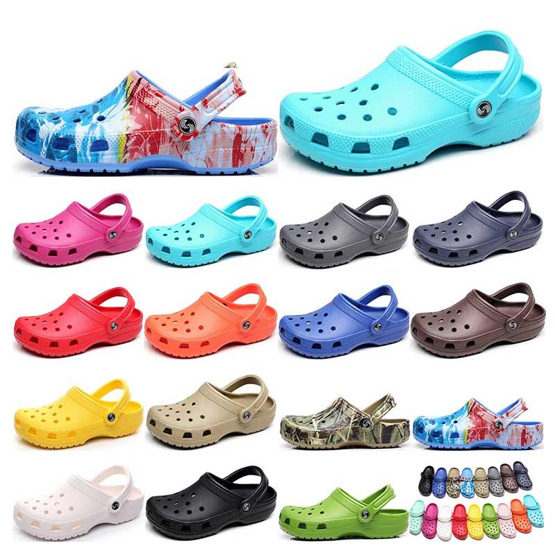 164 hotsale 패션 샌들 캐주얼 해변 방수 신발 남성 클래식 간호 절단 병원 여성 슬리퍼 작업 의료
