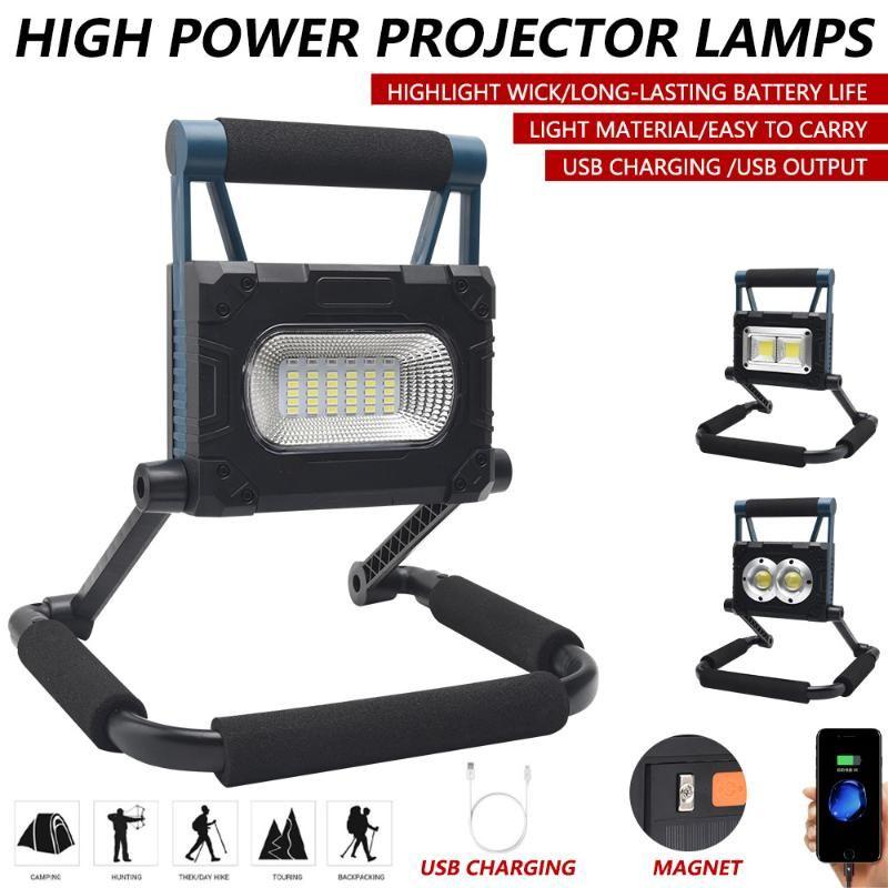 3600mAh Solar LED Flood Light Outdoor Waterproof Lantern USB Rechargeable Bulb Tent Lamp Portable Lanterns Emergency Floodlights