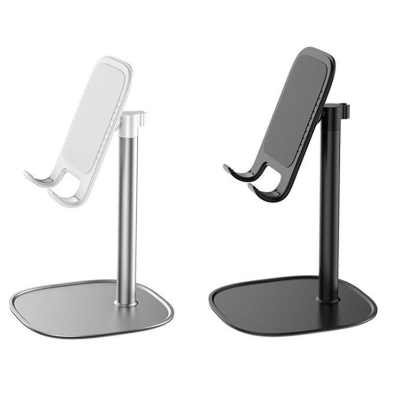 Suporte de telefone de cilha de desktop ajustável universal para tablet mobile mesa suporte suporte suporte suportes