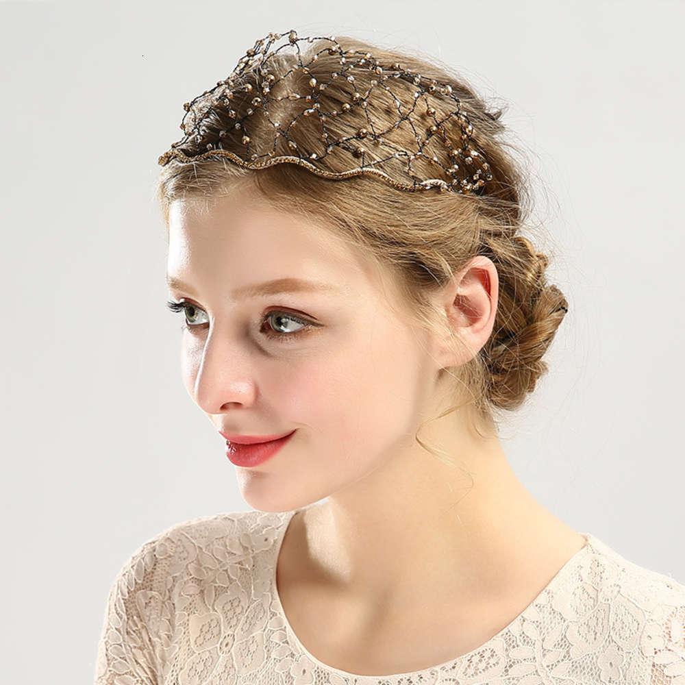 Das gleiche Kristallstirnband mit Diamant-Mesh-Stirnband ist ein beliebter Kopfschmuck-Kopfband