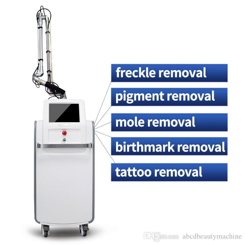 CO2 lazer yüz tedavisi güzellik makinesi dövme kaldırma