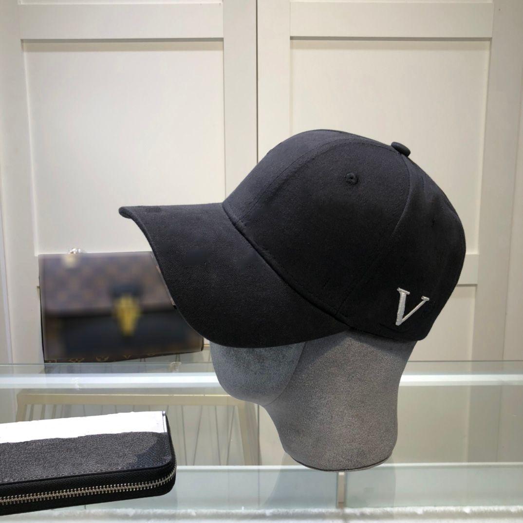 2021 편지 자수 LuxUrys 야구 모자 고체 색상 고품질 트렌드 단순 디자이너 모자 모자 망 여성 casquette