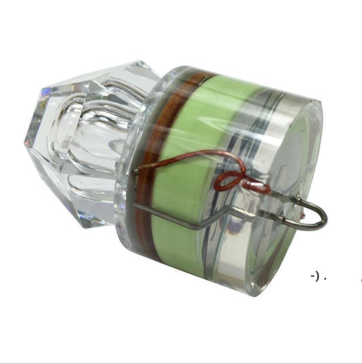 Gartenbedarf Tiefsee Diamant Lichtköder Nachtangeln LED Poly Unterwasser Leuchtende wasserdichte Fischfalle Getriebe OWD6127