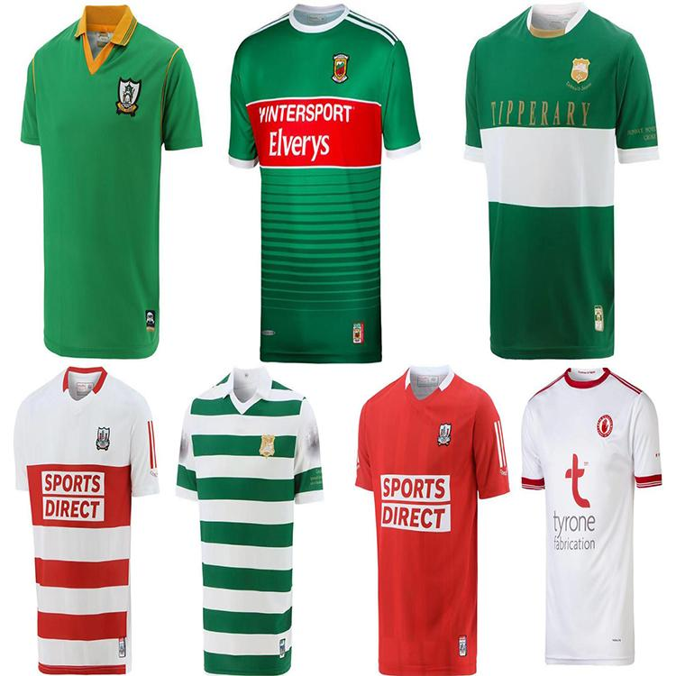 20 - 21 Dublin Gaa Home Rugby Jersey 2122 Caillimh Tipperary Áth Cliácio David Treacy Tom Connolly Camisas