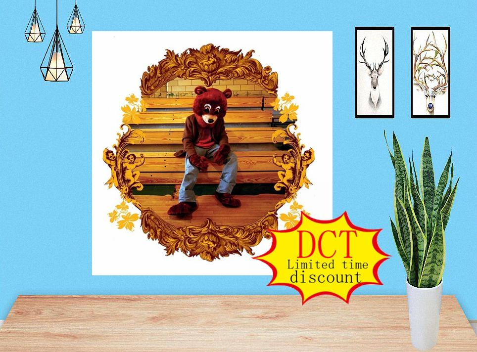 Kanye West the College Dropout Album Poster Cover Silk Art Print