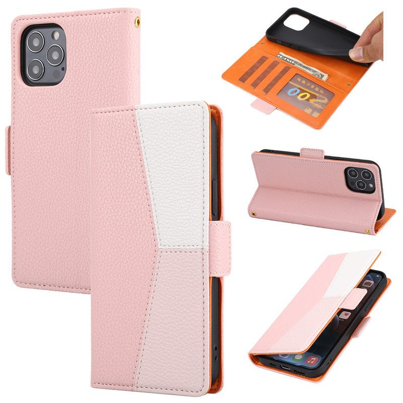 Luxury Leather Phone Cases For Samsung S21 S20 Plus Ultra iPhone 13 12 Pro MAX Sony Wallet Protective Case Cover