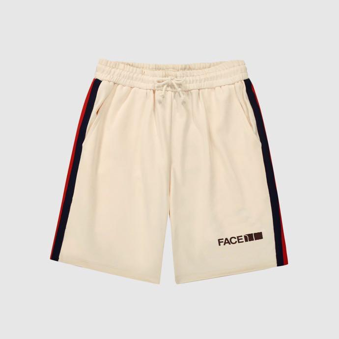 21ss أعلى كوليتي مصمم السراويل عالية الشارع السراويل القصيرة حزام الرجال الصيف رياضة sweatpants الهيب هوب الشارع الشهير ملابس رجالي الحجم: XS-L