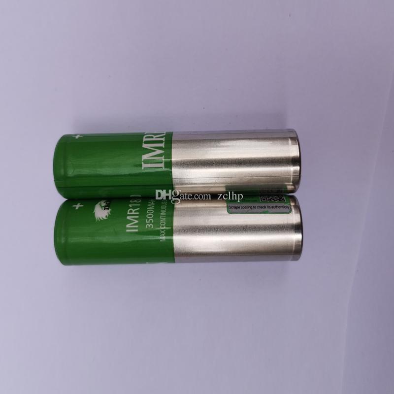 100% Top Quality IMR 18650 Bateria 3500mAh 3.7V 30A 18650 Baterias E CIG Mod Recarregável Li-ion Bateria
