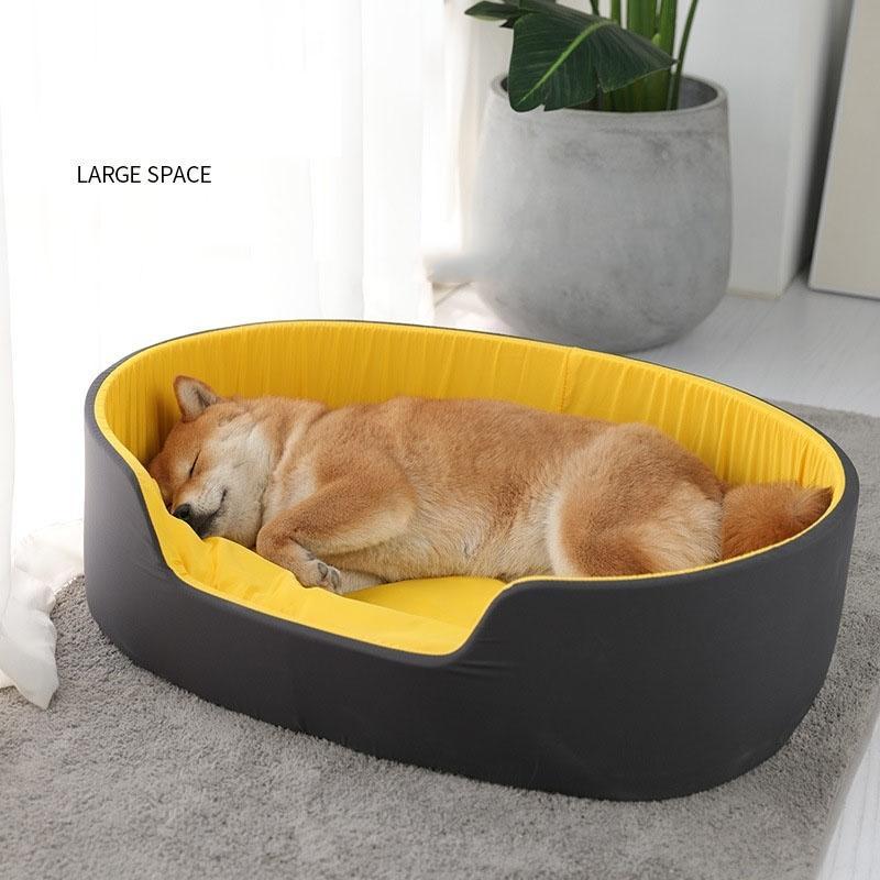 3d قابل للغسل بيت الكلب كلب للكلاب القط المنزل الكلب سرير للكلاب الكبيرة منتجات الحيوانات الأليفة ل جرو الكلب وسادة حصيرة المتسكع مقاعد البدلاء أريكة 210401