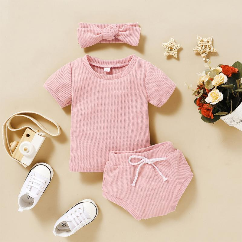 Наборы одежды 2021 Baby's Born Boy Baby Girls Set Outfit Bodysuit Ромпер Мягкая простая хлопковая одежда