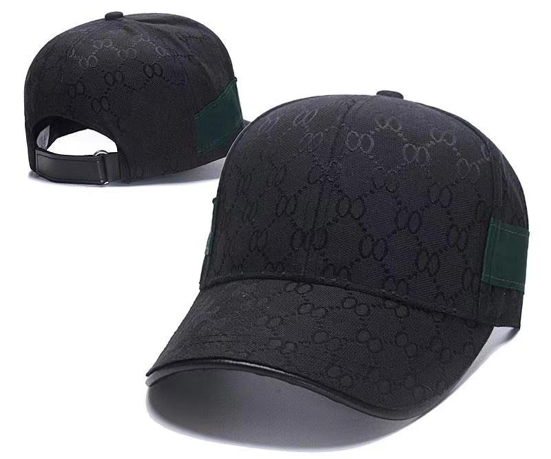 2021 패션 Snapback 야구 Casquette 멀티 컬러 모자 뼈 조정 가능한 Snapbacks 스포츠 공 모자 G 모자
