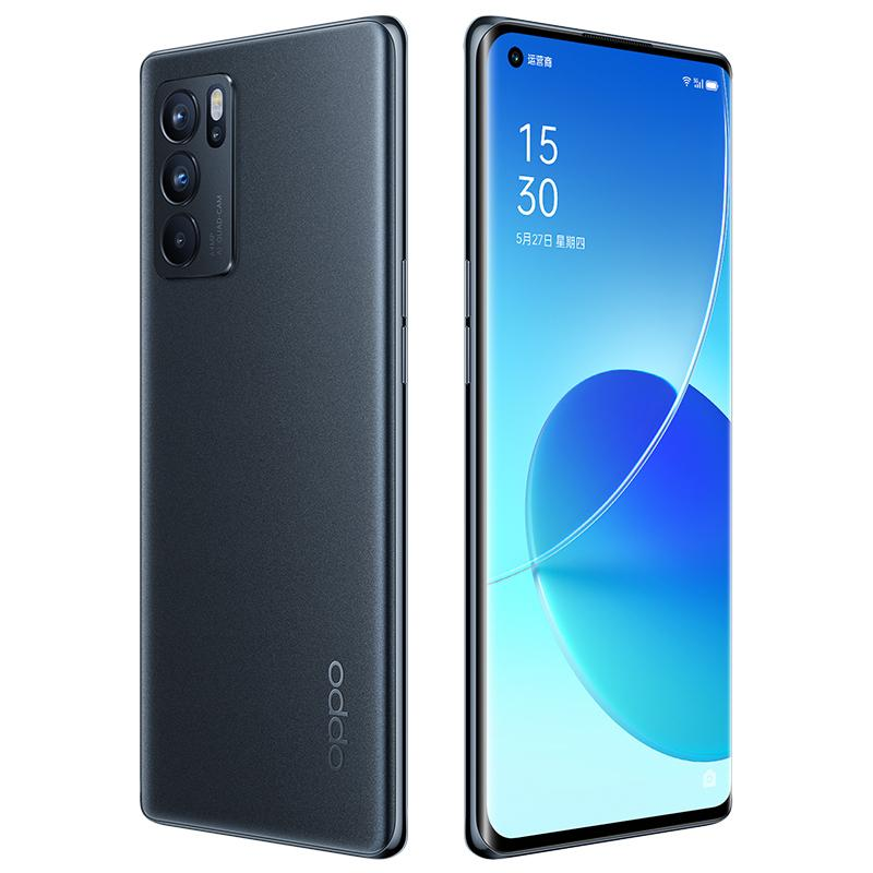 "Original Oppo Reno 6 Pro 5G Mobile Phone 8GB RAM 128GB ROM MTK Dimensity 1200 64MP Android 6.55"" AMOLED Full Screen Fingerprint ID Face NFC 4500mAh Smart Cellphone"