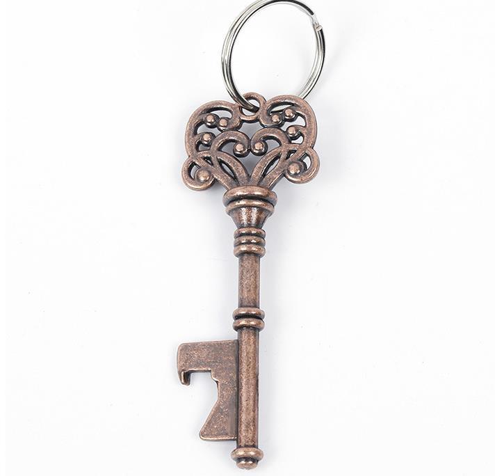 빈티지 키 체인 열쇠 고리 맥주 병 오프너 코카 링 또는 체인 CCF6360 공구를 열 수 있습니다