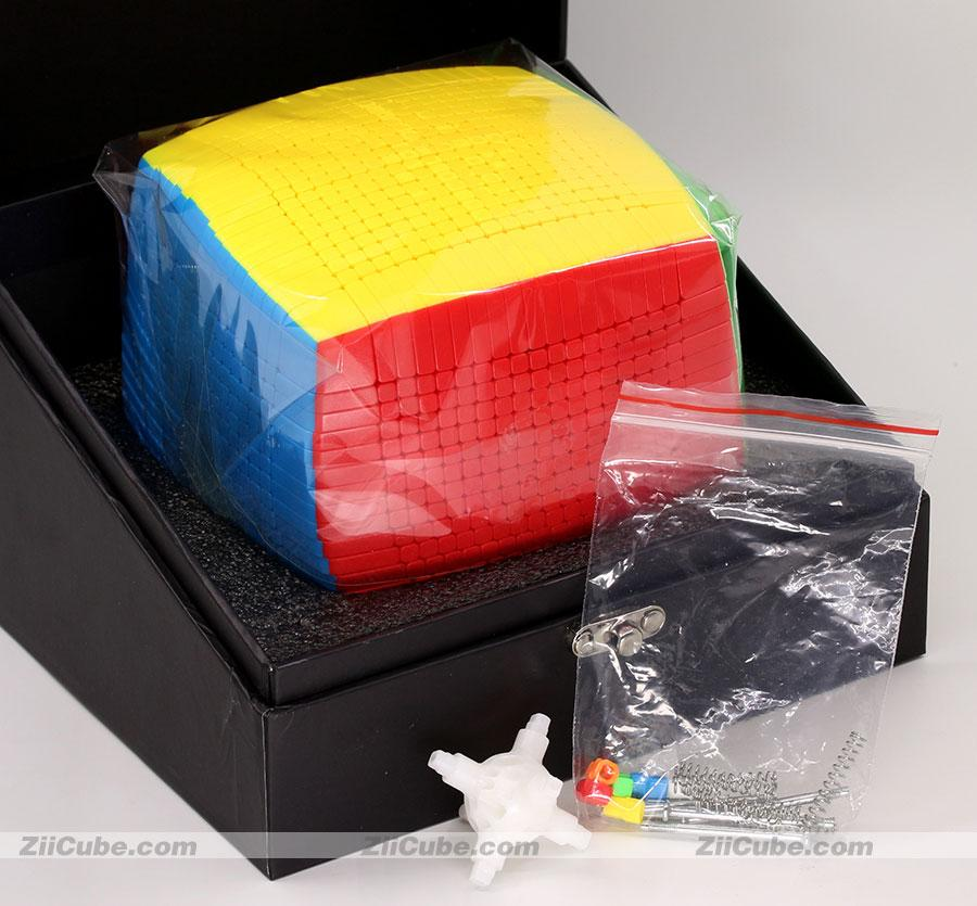 Sengso Magic Cube 19x19x19 Puzzles Cubo 19x19 Shengshou Magic Puzzle Alto Nível Mágico Cubos Educacional Torça Toys Game