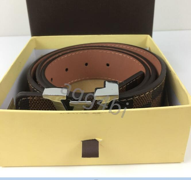 2021 Wholesale LòuisVuittòn Including Original Box Mens Belt Luxury Designers Belts For Men And Women Business Brand Girdle From AA3