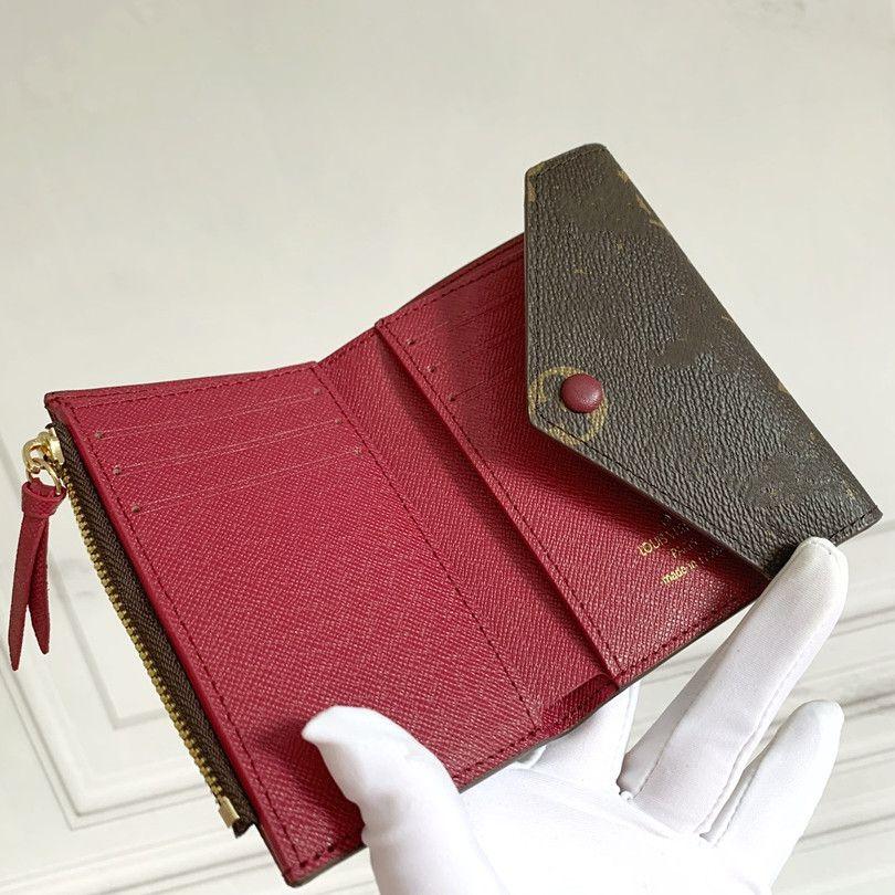Designer ZIPPY WOMEN Wallet leather multicolor coin purse short wallet Polychromatic purse lady Card holder classic mini zipper pocket M41938