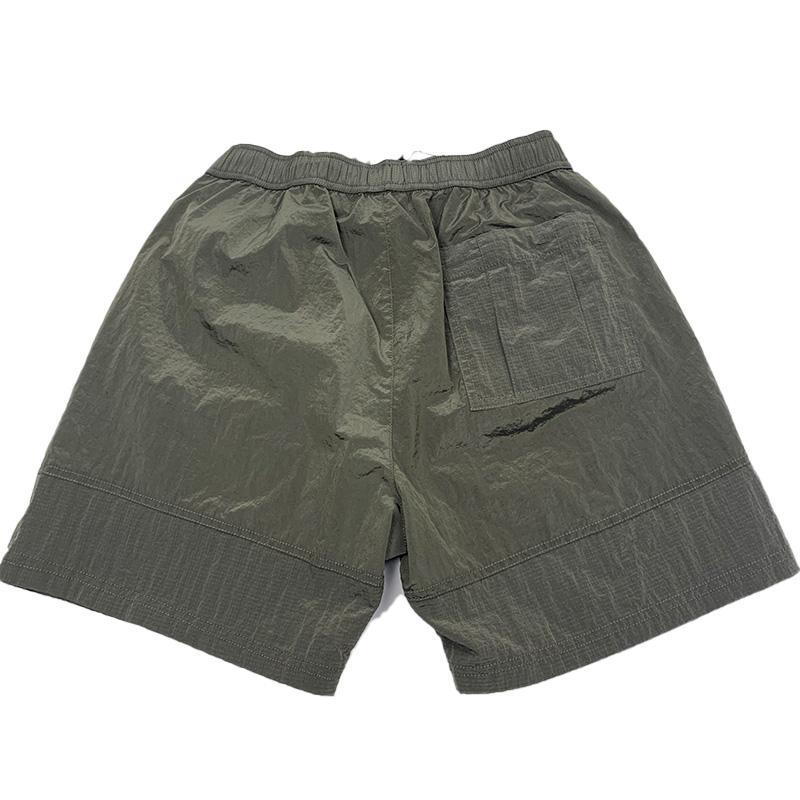السراويل الشاطئ OPSTONE 2021 Konng Gonng العلامة التجارية الصيف السراويل الرجال الأزياء الجري فضفاضة سريعة غسل سريعة جافة عملية نسيج القطن الخالص