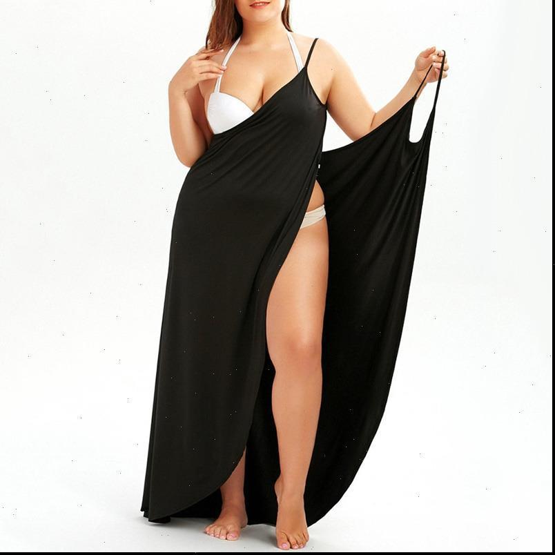 Plus Größe Frauen Kleider Sommer Badeanzug Schal Strandhülle Wrap Sarong Rock Maxi Dress Up Pareo