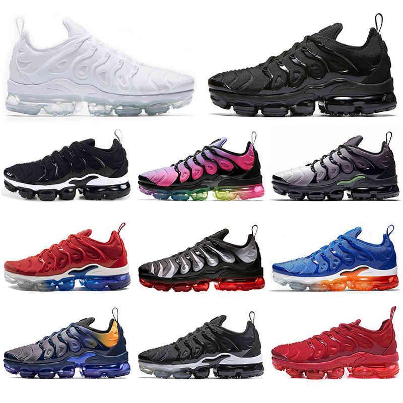 TN Boots Ayakkabı Erkekler Kadınlar Için Üzüm Parlak Kırmızı Crimson Hiper Menekşe Erkek Volt Wolf Gri Açık Koşu Spor Sneaker Eğitmenler