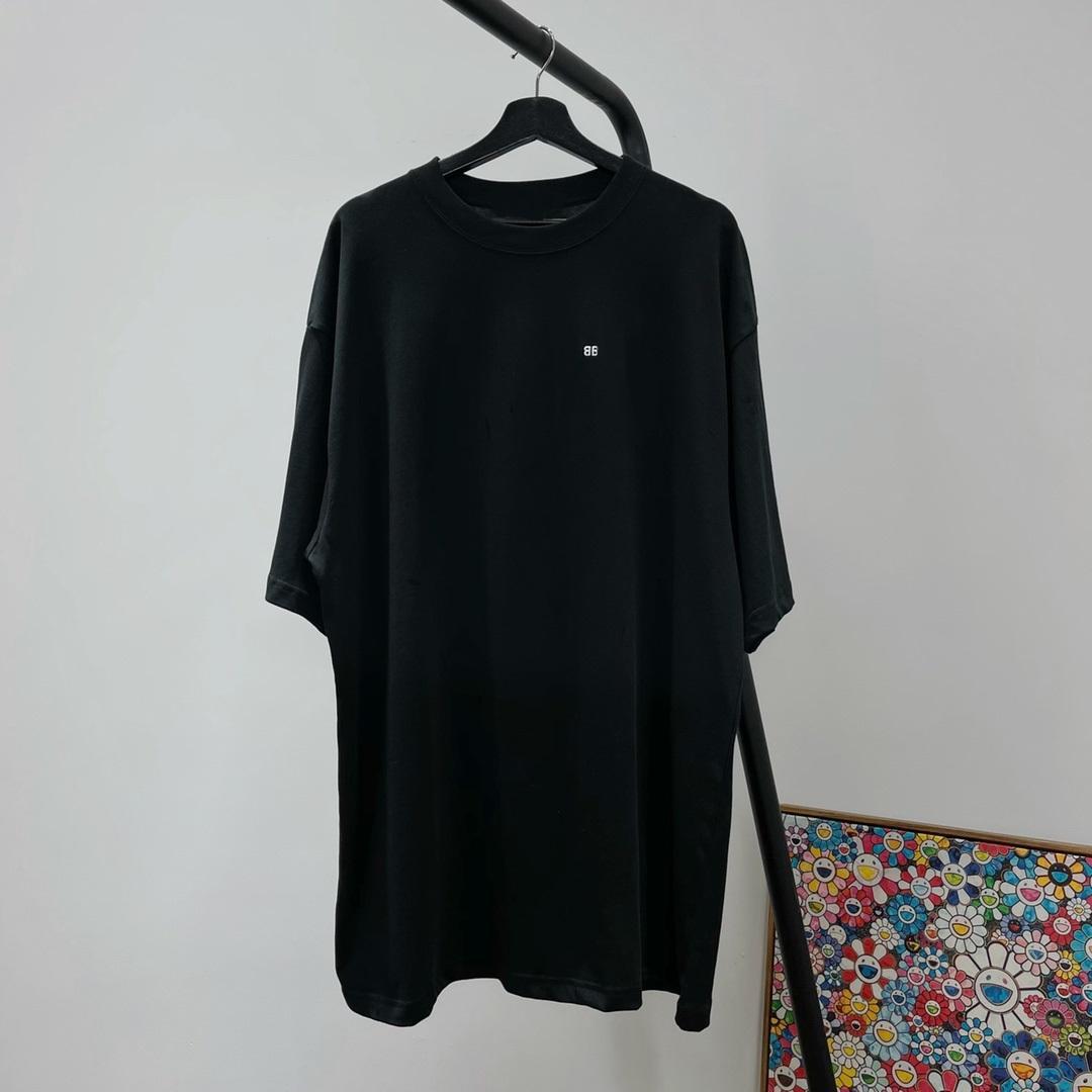 2021SS 패션 럭셔리 파리 봄 여름 티셔츠 자수 작은 로고 티 남성 여성 면화 짧은 소매 높은 거리 Tshirts 최고 품질