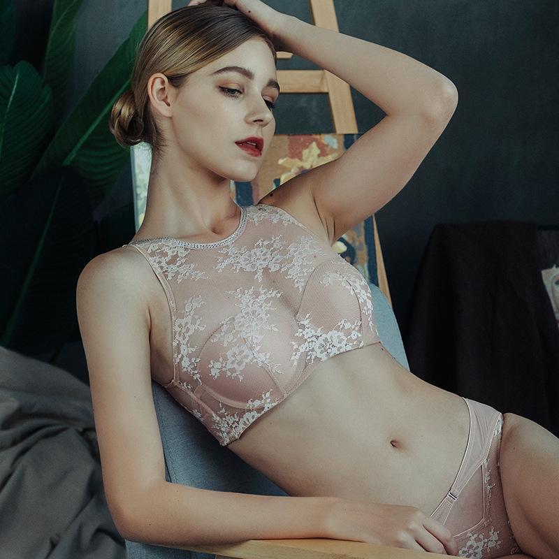 Sexy lingerie lussuoso nastro di pizzo nastro diamante reggiseno reggiseno reggiseno raccolto tubo regolabile tubo top intimo vestito vestito reggiseni e slip