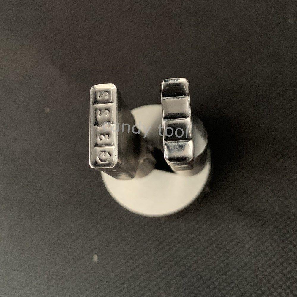 Strumento di forma a forma di barra di acciaio del cuscinetto duro del latte Tablet Die Press Personalizzazione TDP Punch Punch Cast Die Candy Punch Set Premere per tablet machine