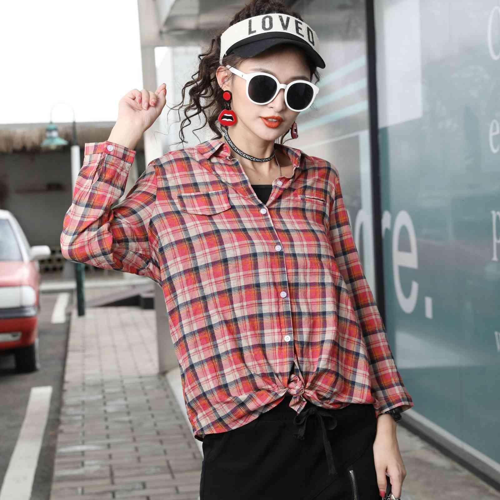 robe femelle automne de style coréen rue couleur solide tendance tendance échecs maillot de cardigan femme