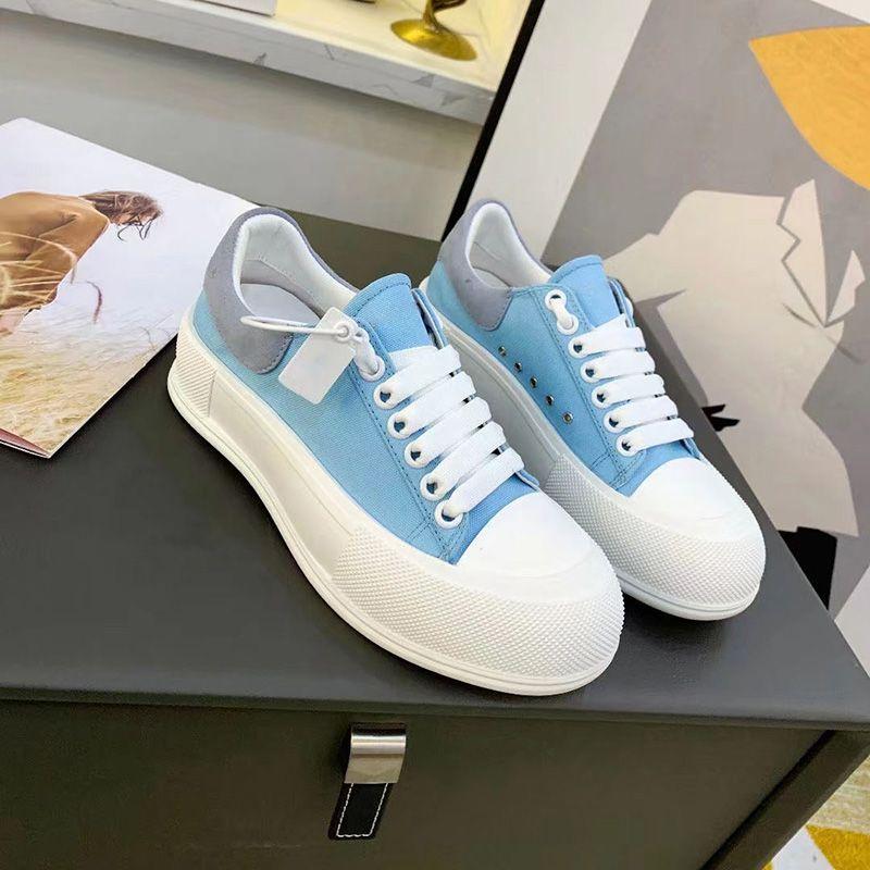 Marca grossa branca sola lona mulheres casuais sapatos verão clássico ao ar livre tênis moda diariamente versátil versátil lace up sapatos