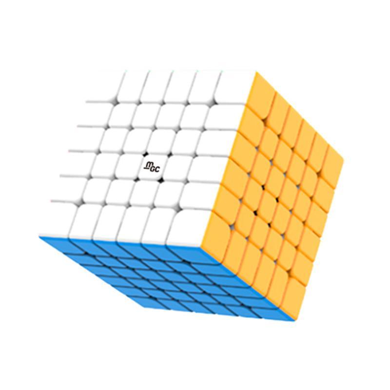 Newset Yongjun MGC 6x6 마그네틱 매직 큐브 YJ MGC 6x6x6 Speed 큐브 경쟁 교육 장난감 어린이를위한 Magico Cubo