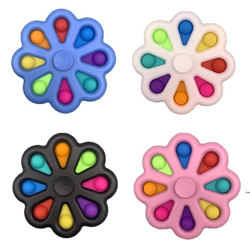 Fidget Spielzeug Finger Bubble Press Relief Fingerspitzen Spielzeug Stress Pädagogische Kinder Baby Geschenk Squeeze Sensor FWF7394