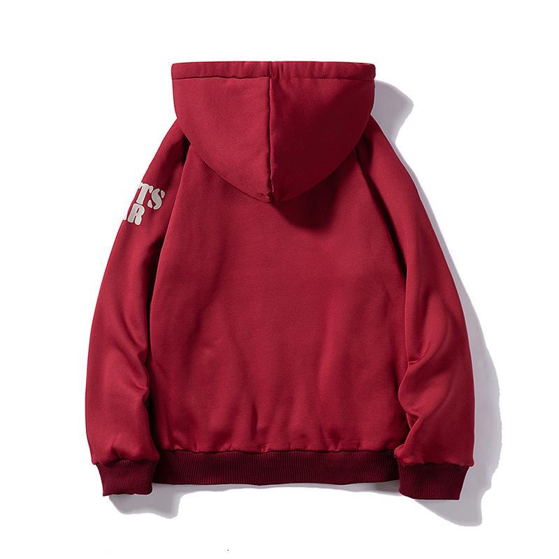 Jaquetas dos homens de inverno Mens grosso casaco de lã de veludo quente moletom High Street Casaco de Casaco Cardigan Homens Com Capuz Overcoats I4Y8