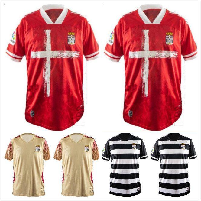 2021 FC Cartagena Fußball-Trikots 20 21 Gallar Bulka Harper Aguza Claveria Delme Football Hemden