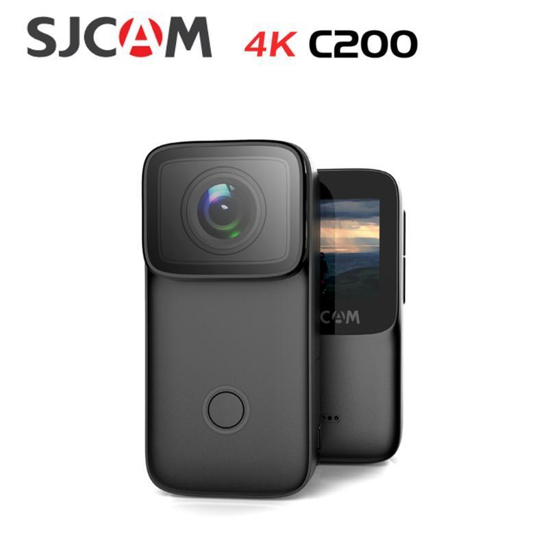 Télescopes SJCAM C200 Caméra Action 4K 16MP NTK96660 WIFI GYRO ANTI-SHAKE NIGHT NOITING NOISE 40M Sports imperméables Sports DV webcam thumb