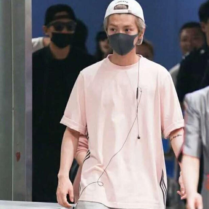 BALENCAIGAODECLO XINLUHAN T-shirt Summer manches courtes occasionnel Vêtements pour hommes et femmes populaires coréens TopDesigner