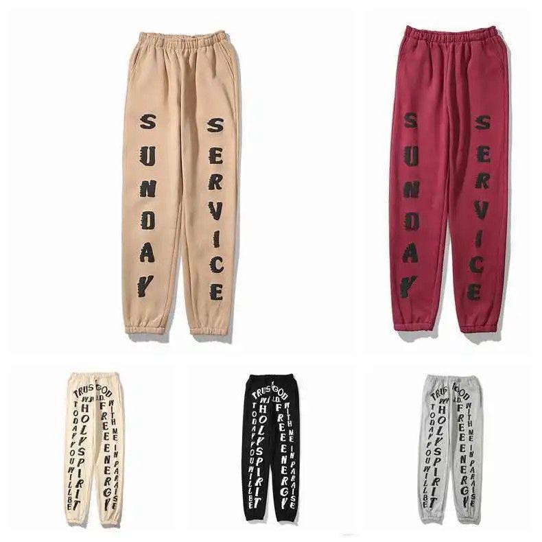 Pantalones vaqueros de impresión sueltos Moda europea y americana Moda de gran tamaño Capris casual guapo desgaste pareja pantalones