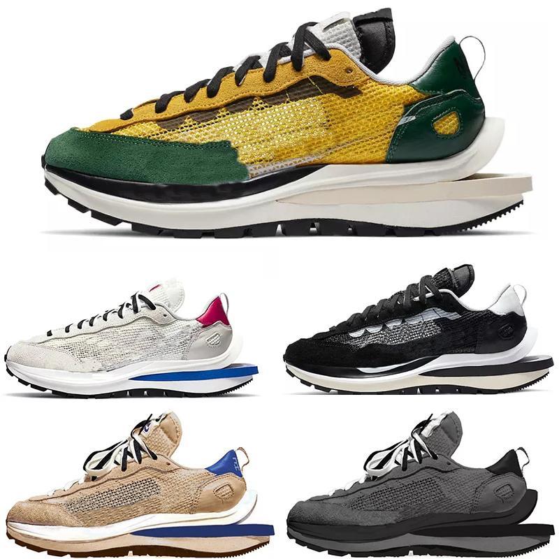 2021 Dark Iris Black Nylon Vaporwaffle Mens Running Shoes Sesame Royal Fuchsia White LDV Waffle Tour Yellow ld one Women men Sports Trainers Sneakers Sacais X