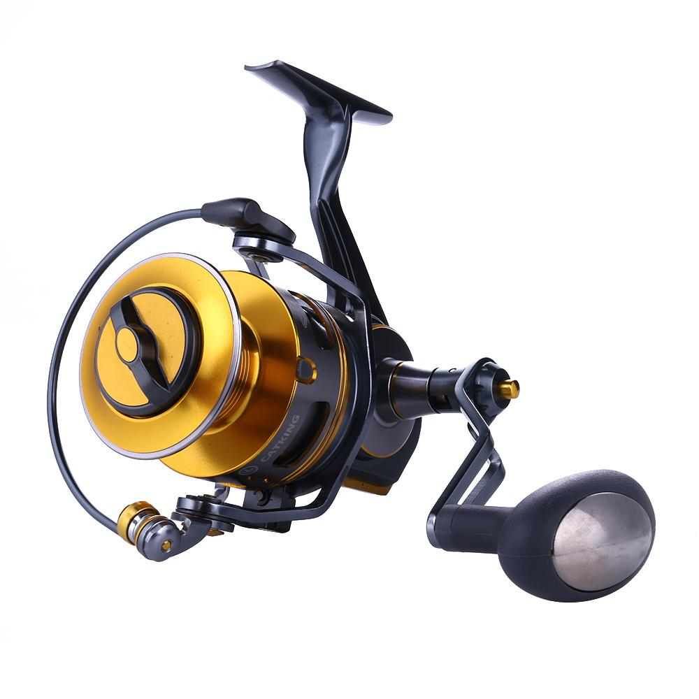 1 UNIDS Treel de pesca de metal superior Kate 4000 Ultra-Light Full Full Impermeable Fish Fish Reeles ACE40