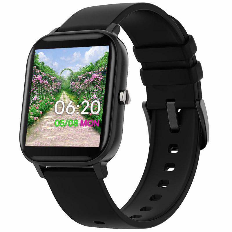 Smart Watch Watch Uomo Men Touch Bluetooth Bluetooth Call Orologio da polso Quadrante personalizzato IP67 Autoappertazione cardiaca impermeabile Fitness Tracker Sport Band PK IWO 13 Pro SmartWatch per Android IOS