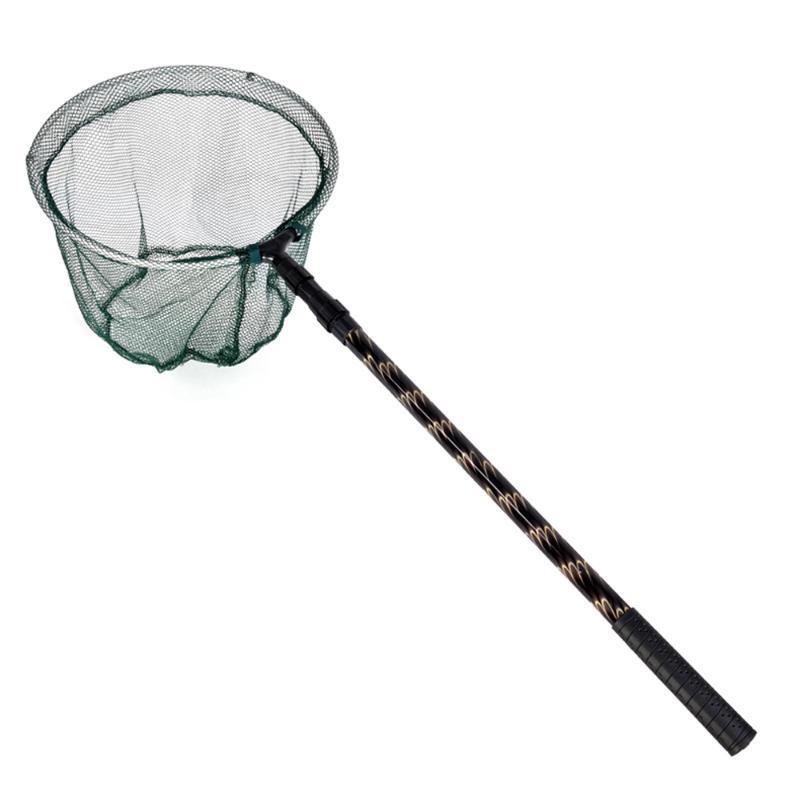 Spor Balıkçılık Net 180 CM Geri Çekilebilir Teleskoping Alüminyum Alaşım Kutup Katlanabilir Brail iniş Takımı Aksesuarları