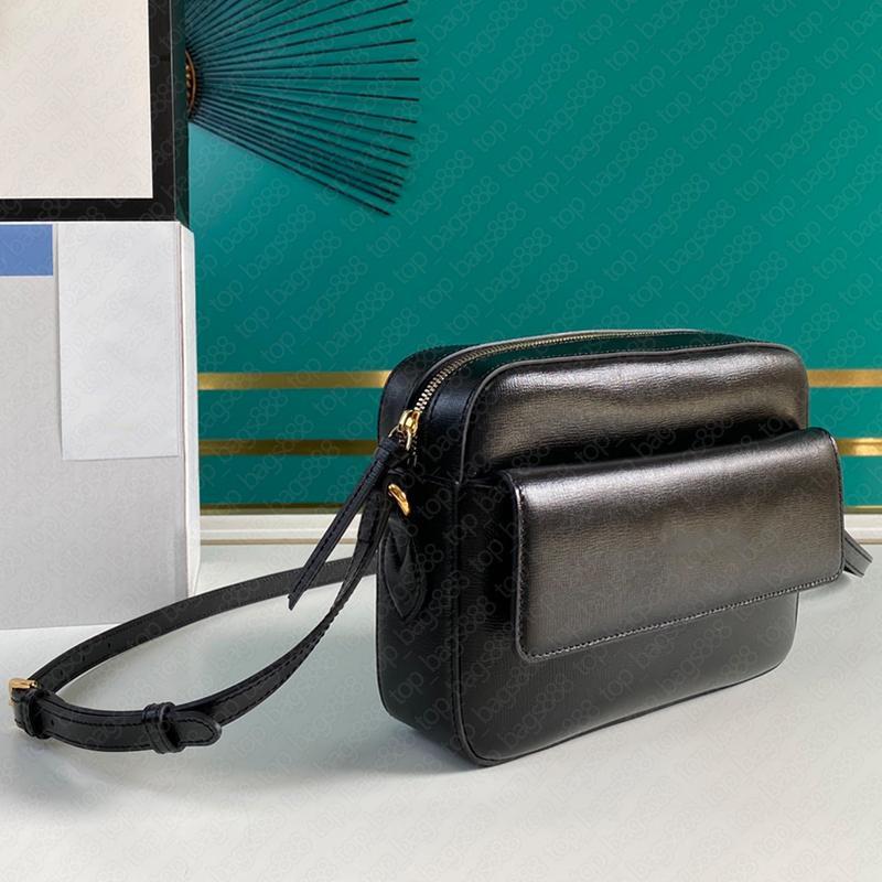 2021 Design Männer Frauen Schwarze Umhängetasche Paar Modelle Luxus Designer Marke Original Leather Classic Hosbit Taschen mit Datum Code