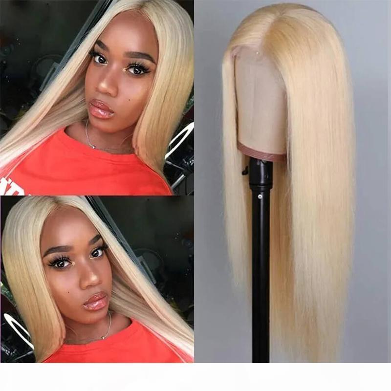 Glueless Seide 613 Spitze Front Perücken Volle Spitze Menschliches Haar mit Babyhaaren Prepucked Natural Hairline 130% ~ 150 Dichte transparente Spitzeperücke