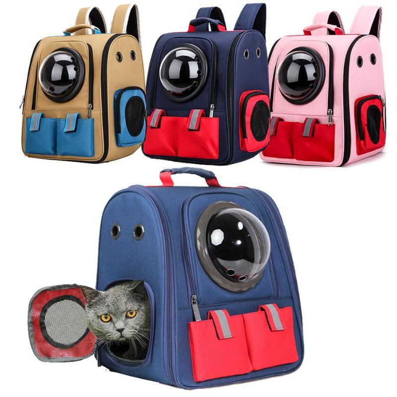 Cat Carriers,Crates & Houses High Quality Foldable Astronaut Transport Travel Carrying Tote Shoulder Handbag Dog Backpack Pet Carrie
