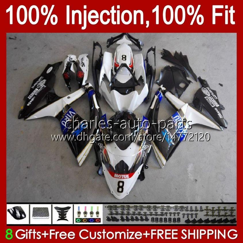 Suzuki 검은 공장 Blk GSXR 600 750 CC 600CC 750cc GSXR600 K8 GSX-R750 9HC.21 GSXR-600 GSXR-750 08 09 10 GSXR750 GSX-R600 2008 2009 2010 OEM 페어링 키트