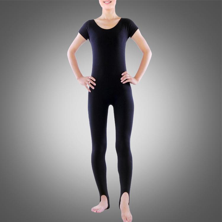 Adulto Stirrup Dance Unitard A2620 Wholesale Ballet Desgaste de la gimnasia Dancewear